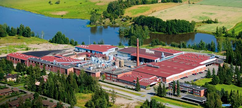 Завод Катепал в Финляндии